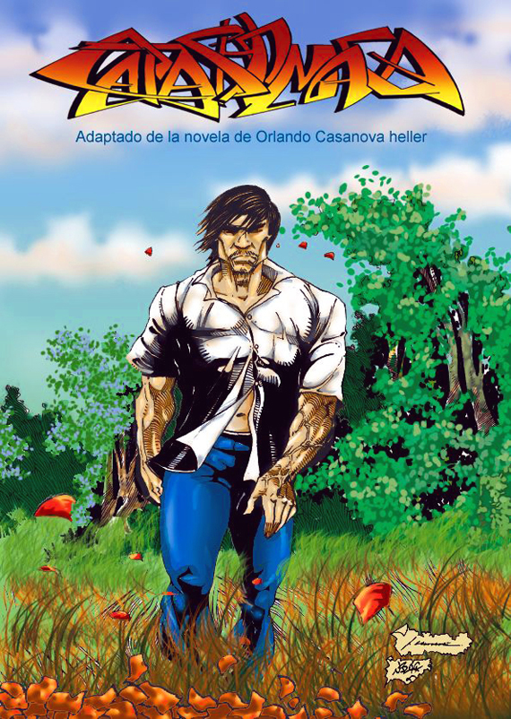 The cover of Catasho Maca by Choclote Martinez.
