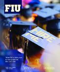 Florida International University magazine Spring 2013 cover
