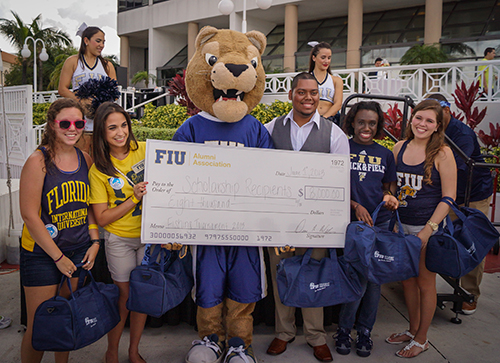 Alumni Association scholarship recipients 2013