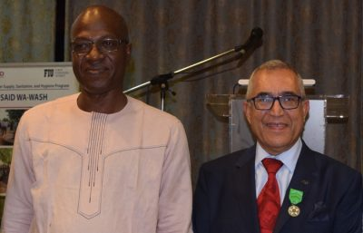 FIU becomes Knight of the Rural Development Merit Order of Burkina Faso