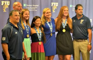 Athletics celebrates largest class of graduating students