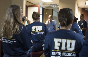 FIU medical disaster response team continues to help post-hurricane recovery