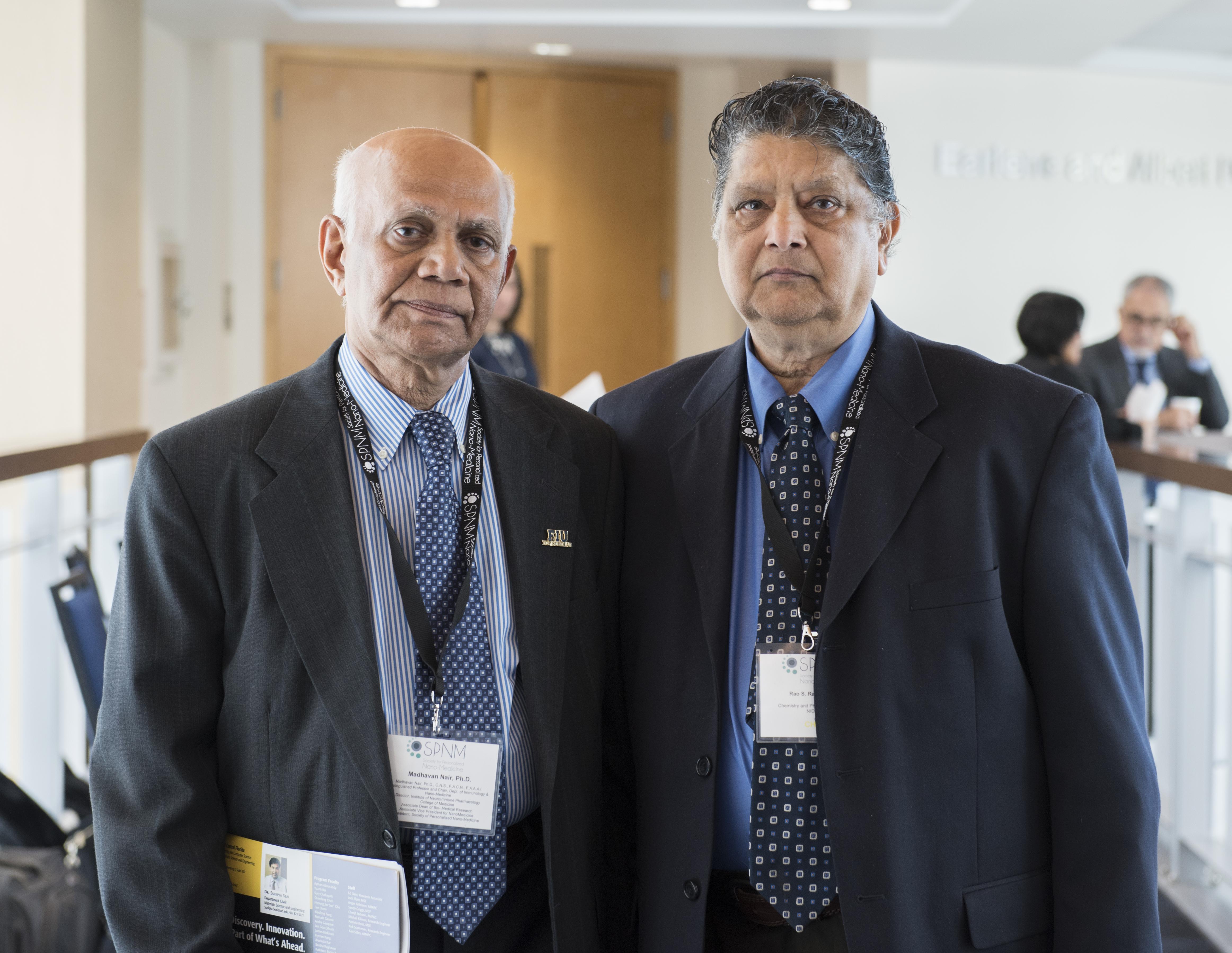 Dr. Madhavan Nair and Dr. Rao Rapaka