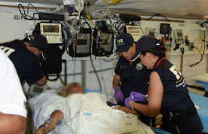 FIU-FAST, Miami Beach Fire Rescue set up field hospital Memorial Day weekend