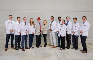Medical students meet the philanthropists funding their tuition