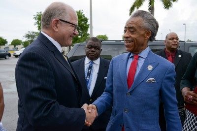 President Rosenberg and Rev. Sharpton