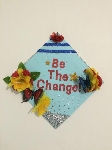 Myrthil's graduation cap