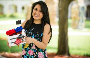 Graduate student's start-up is in full bloom