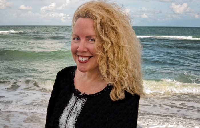Denise Duhamel, professor in the FIU Creative Writing Program in the Department of English