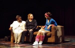 Dezmonique (Danielle Rollins), Catherine (Melissa Ann Hubicsak), Gina (Michelle Antelo