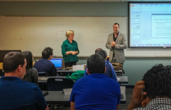 Engineering alumnus connects classroom learning to solid careers