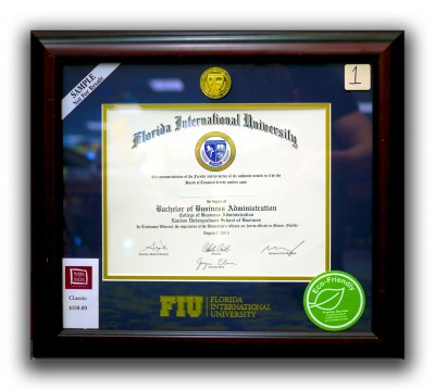 Share your favorite grad pic for a chance to win an FIU degree frame