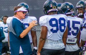 4 questions with football head coach Butch Davis