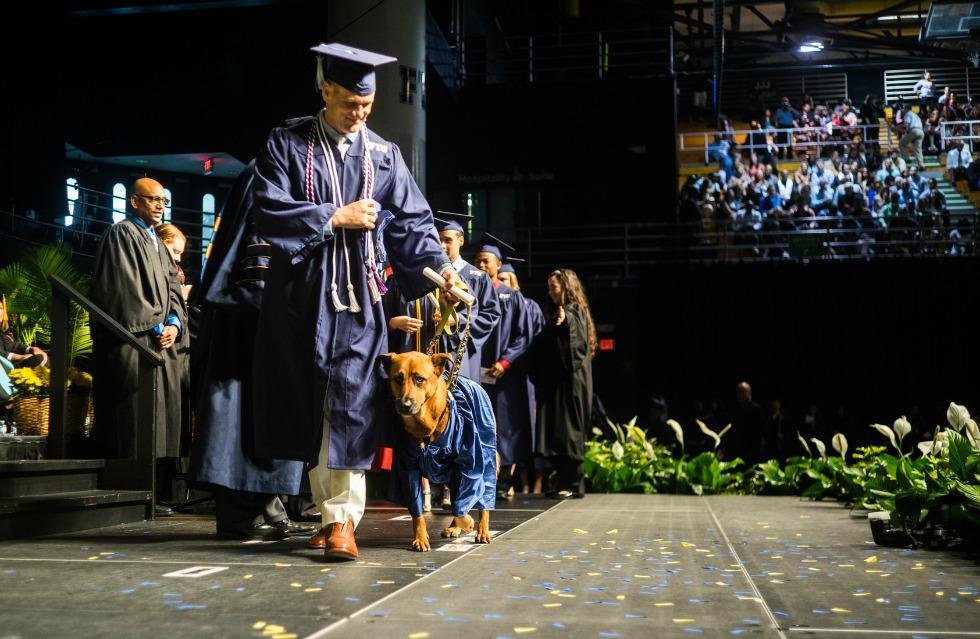 Dog graduation 1
