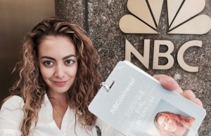 Communication Arts Major Dominique Ehrl is currently in her second semester as an intern at NBCUniversal
