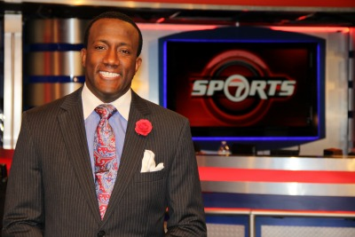 Florida International University alumnus and WSVN sports reporter Donovan Campbell Very Important Panther