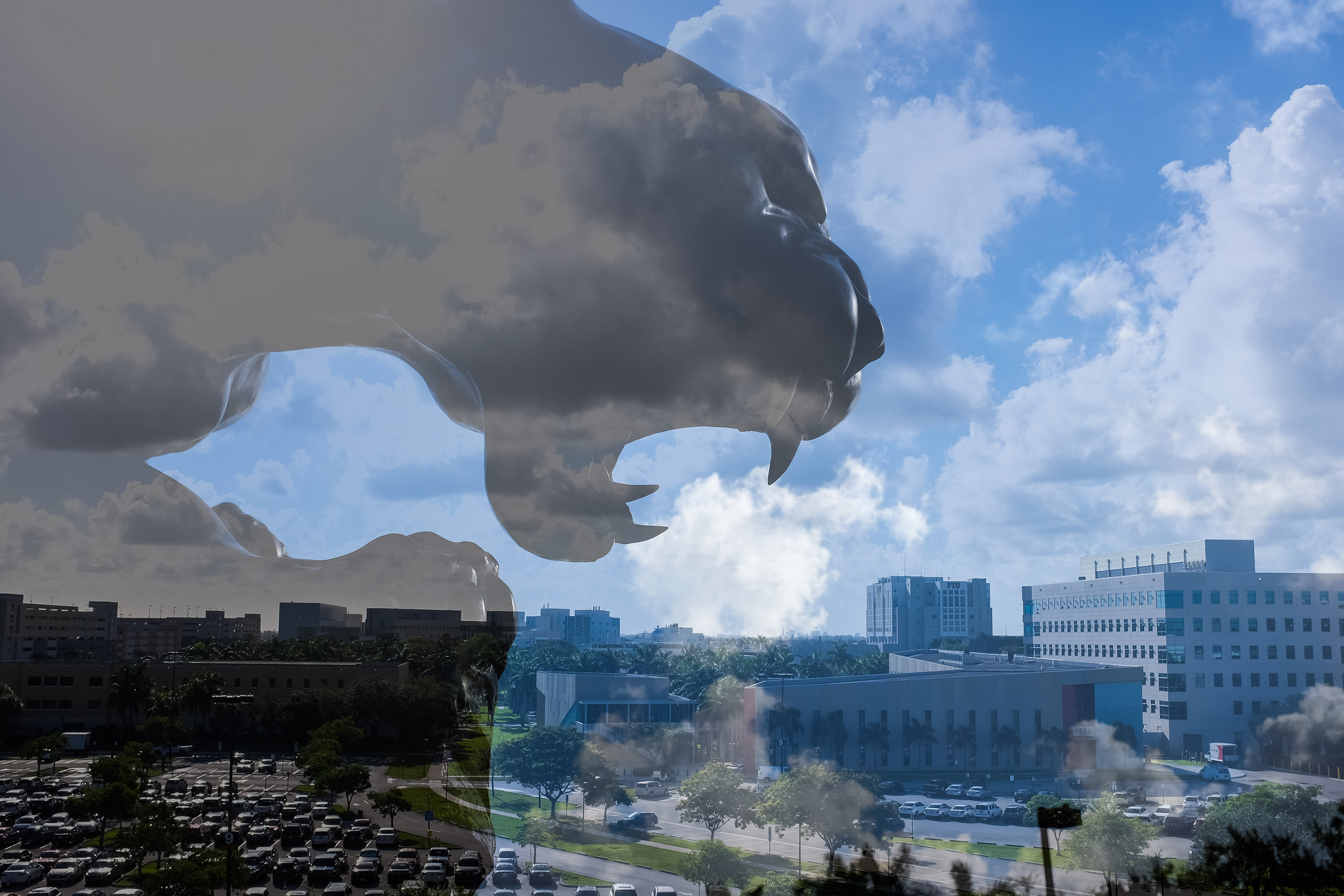 Double Exposure panther