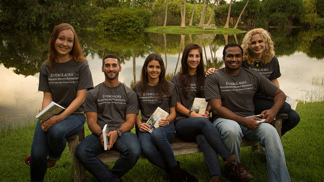 Students embark on Everglades writing expedition
