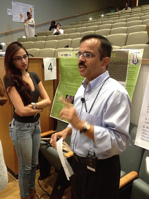 End of the semester poster presentations