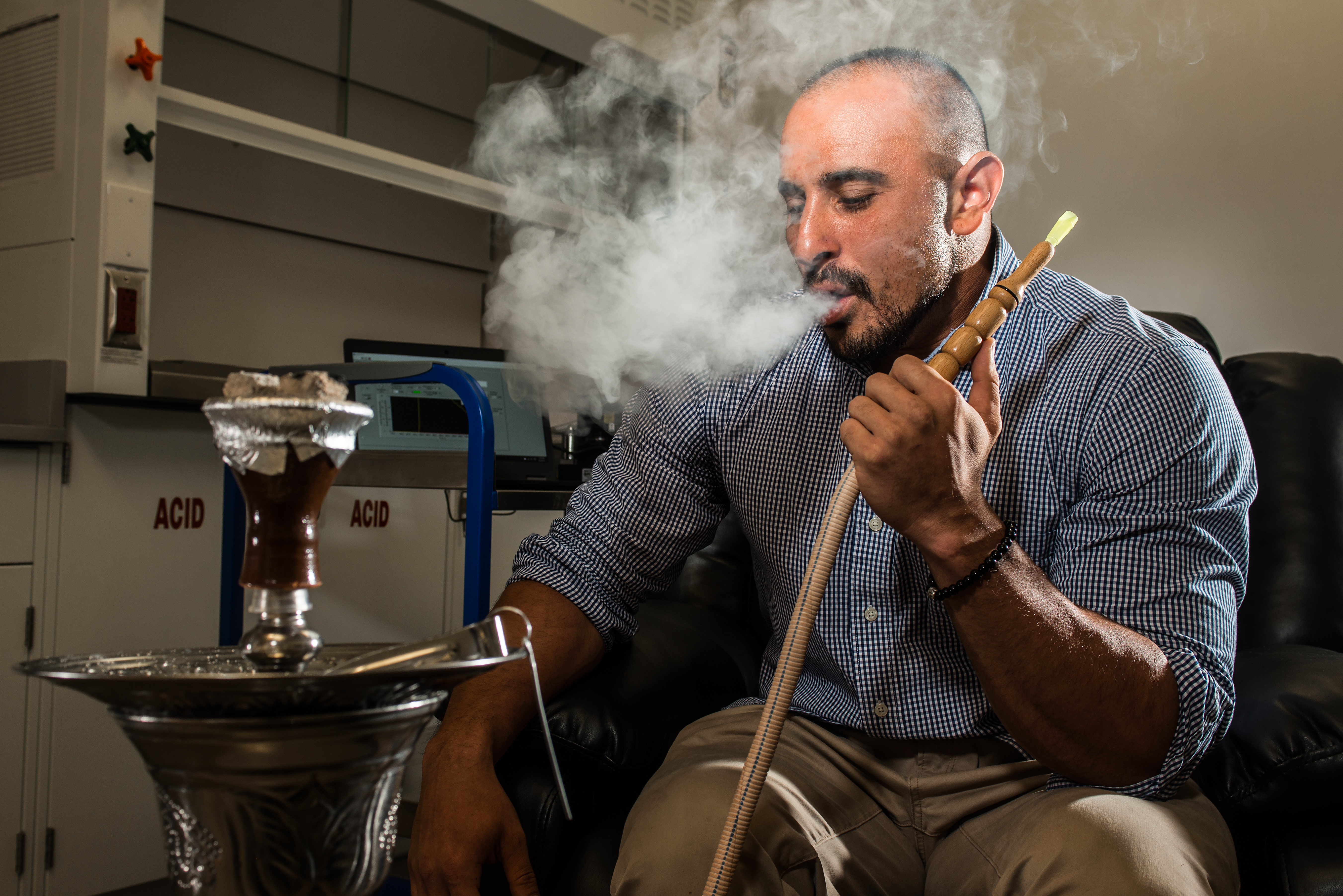 Stempel College unveils first clinical research lab for hookah smoking in South Florida