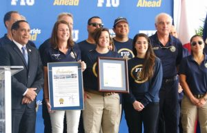Medical mission team honored for hurricane work
