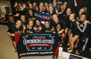 Swimming and Diving wins Conference USA championship with historic performance