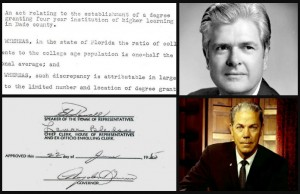 50@50: Governor signs bill to create FIU in 1965