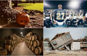 October 2017 in photos: Halloween, Irma cleanup and football