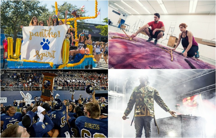 October 2016 in photos: Halloween, Homecoming, Shula Bowl