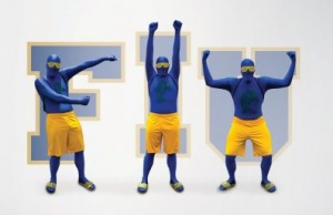 10 Questions for FIU Blue Man