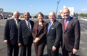 FIU and Broward College president J. David Armstrong, Jr. with trustees at the opening of FIU at I-75.