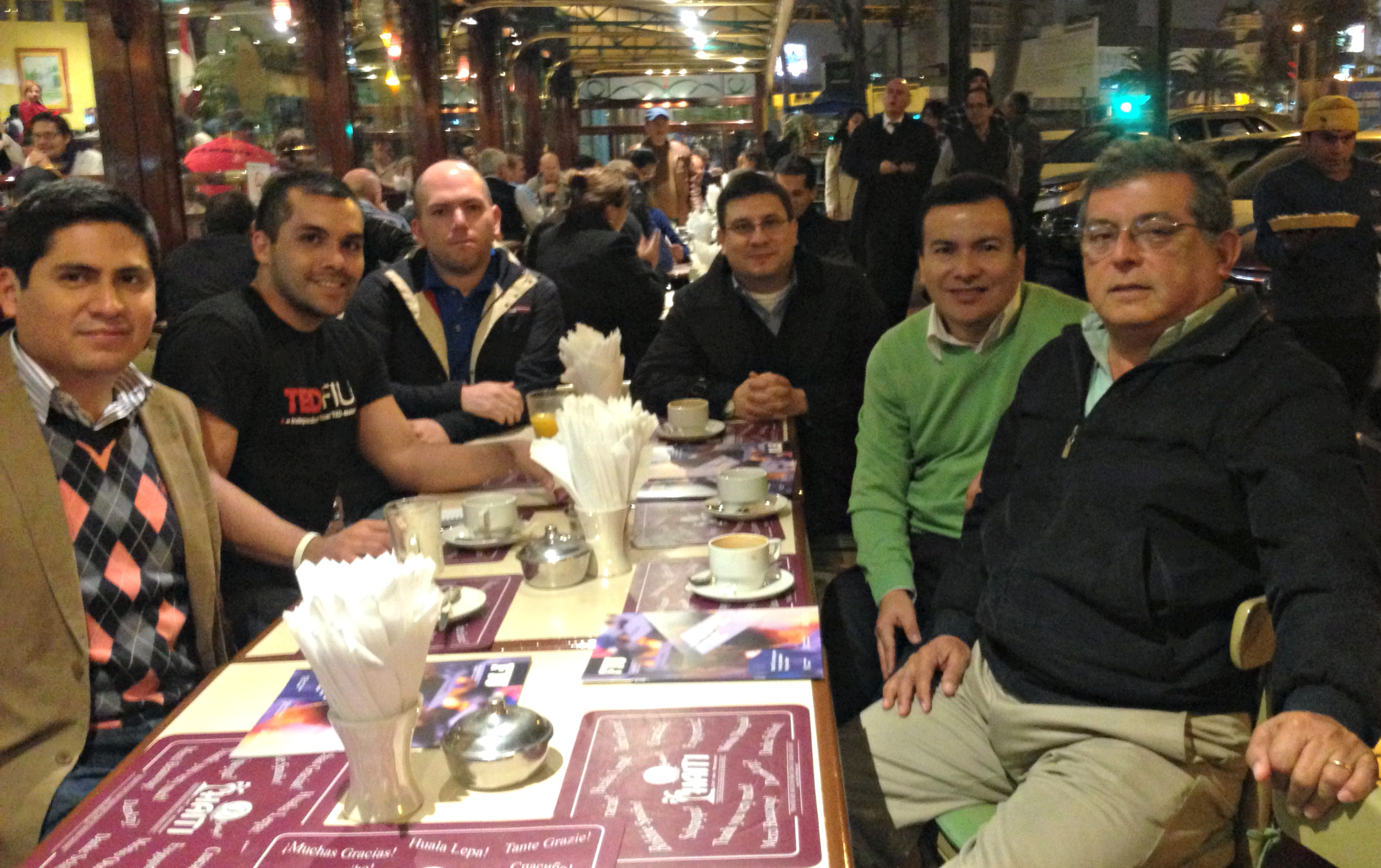 Peruvian Panthers meet in Lima