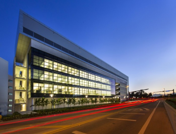 All new FIU buildings, such as Academic Health Center 4, which was completed in 2013, are LEED-certified.