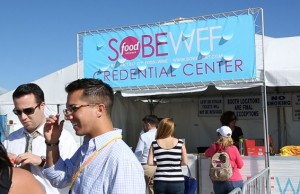 All-access pass to the Food Network South Beach Wine & Food Festival