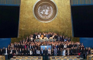 Alumna gives speech at the U.N. General Assembly