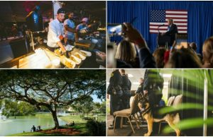 February 2019 in photos: SOBEWFF®, President Trump and a new, furry police officer