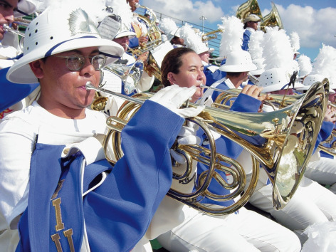 Marching band returns to FIU