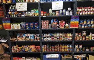 FIU Libraries take food pantry donations as fee payment