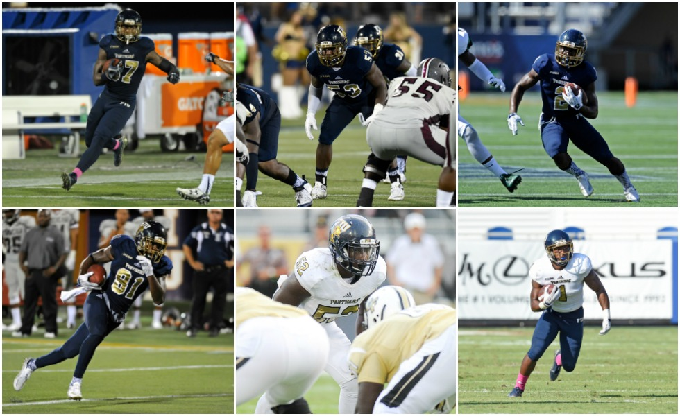 Six football Panthers to watch this season