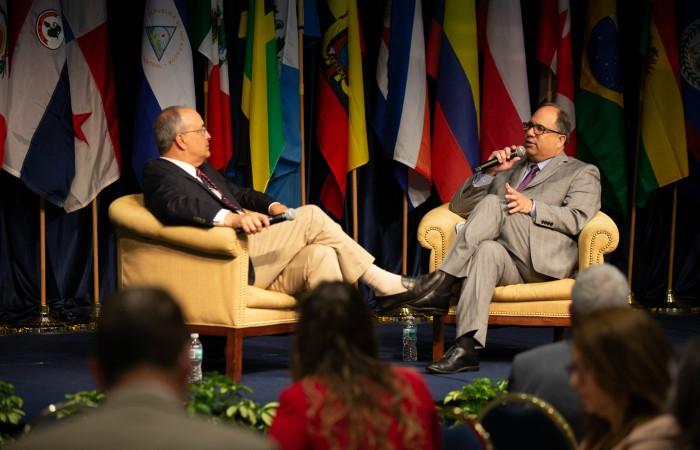 Frank Mora and Juan Cruz