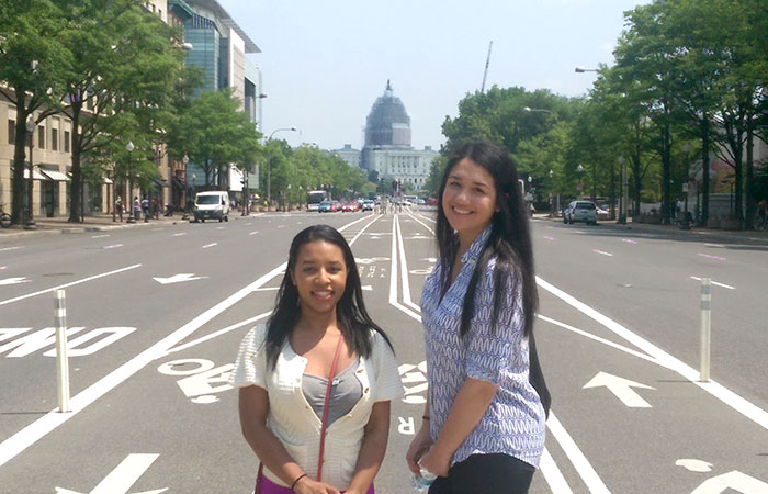 Transformation contest winners travel to D.C.