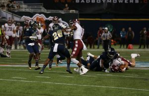 Football falls to Temple in Gasparilla Bowl