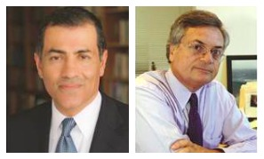 Vali Nasr (left) and Moises Naim (right) will be the keynote speakers at FIU's Geopolitical Summit on Oct. 29