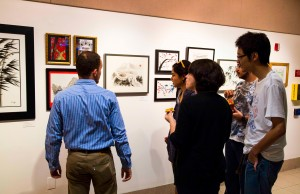 Study abroad artwork showcased in Graham Center