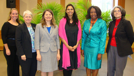 Faculty reveal challenges of gender equality at World Water Day 2013