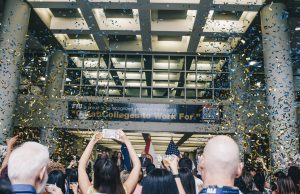 FIU celebrates its recognition as one of the greatest colleges to work for