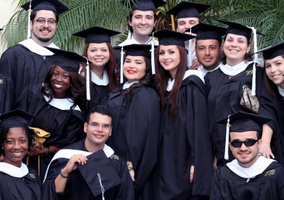 Master of Arts in Global Governance graduates after Spring 2013 commencement ceremony.