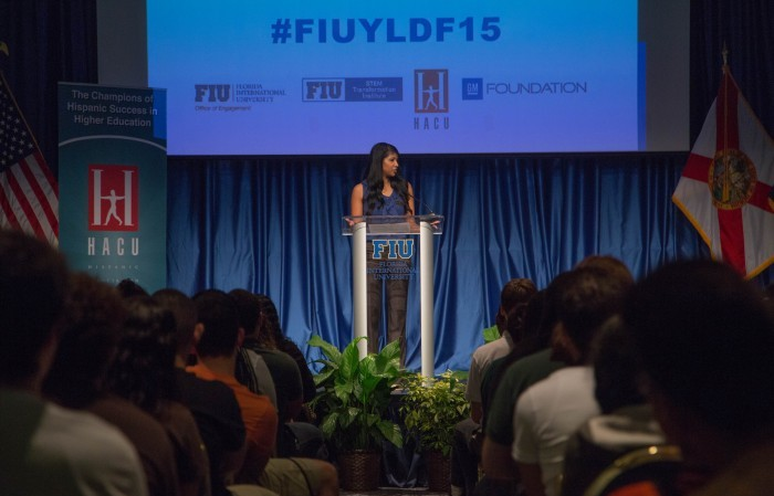 Vishodana Thamotharan associate director of FIUteach