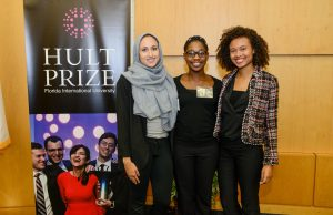 Student team competes in regionals of $1 million Hult Prize