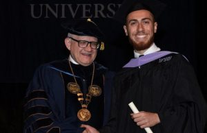 Syrian refugee recognized as Worlds Ahead graduate